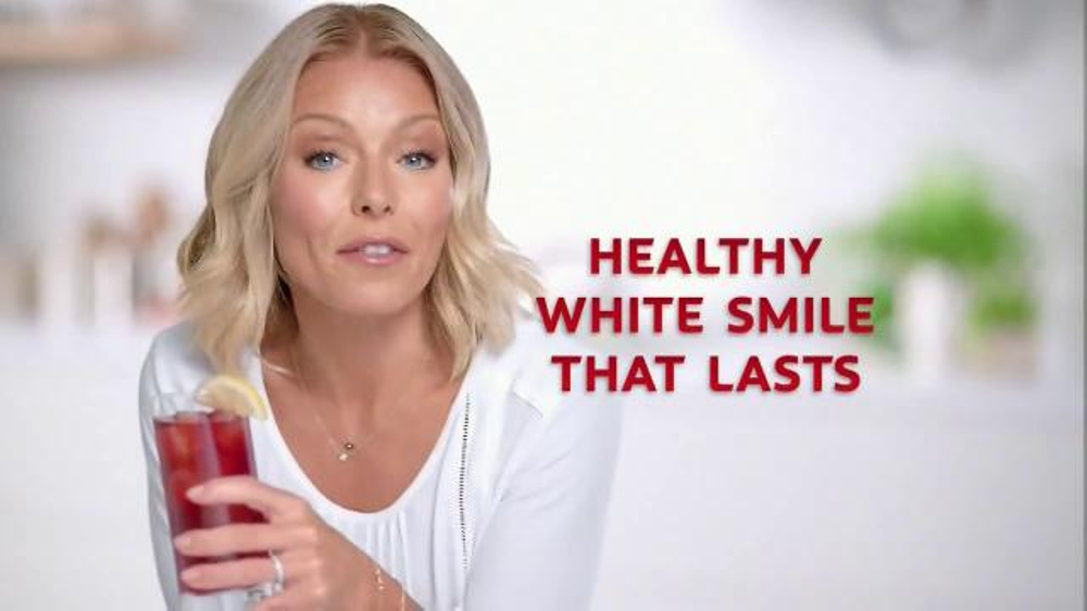 Colgate Total Lasting White TV Commercial, 'Invisible Shield' Feat. Kelly Ripa