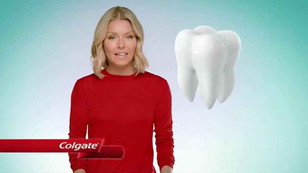 Colgate Enamel Health Toothpaste TV Commercial, 'Line of Defense' Ft. Kelly Ripa