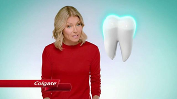 Colgate Enamel Health Toothpaste TV Spot, 'Line of Defense' Ft. Kelly Ripa - Thumbnail 2