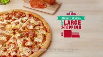 Papa John's TV Spot, 'Up Your Game' - Thumbnail 6