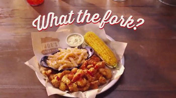 Joe's Crab Shack Southern Fried Maine Lobster TV Spot, 'What the Fork?'