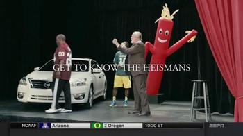 Nissan TV Spot, 'Heisman House: Acting Class' Featuring Robert Griffin III - Thumbnail 10