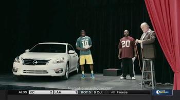 Nissan TV Spot, 'Heisman House: Acting Class' Featuring Robert Griffin III - Thumbnail 5
