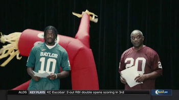 Nissan TV Spot, 'Heisman House: Acting Class' Featuring Robert Griffin III - 8 commercial airings