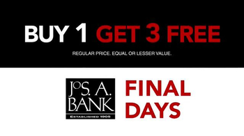 JoS. A. Bank 'Final Days Sale' TV Spot, - Thumbnail 1