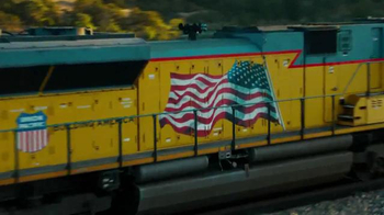 Union Pacific Railroad TV Spot, 'Carrying a Nation's Pride' - Thumbnail 10