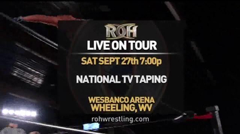 ROH Wrestling Live on Tour TV Spot, 'The Best Wrestling on the Planet'