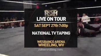 ROH Wrestling Live on Tour TV Spot, 'The Best Wrestling on the Planet' - Thumbnail 4
