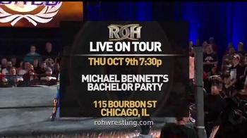 ROH Wrestling Live on Tour TV Spot, 'The Best Wrestling on the Planet' - Thumbnail 5