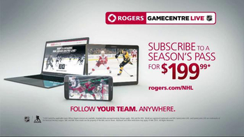 Rogers NHL GameCentre Live TV Spot, 'Where Will you Follow your Team?' - Thumbnail 10