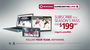 Rogers NHL GameCentre Live TV Spot, 'Where Will you Follow your Team?' - Thumbnail 9