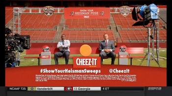 Cheez-It TV Spot, 'Heisman Pose: Bragging' - Thumbnail 8
