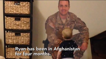Fathead TV Spot, 'Military Dad is Home with His Son' - Thumbnail 1