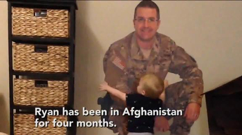 Fathead TV Spot, 'Military Dad is Home with His Son' - Thumbnail 2