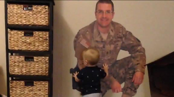 Fathead TV Spot, 'Military Dad is Home with His Son' - Thumbnail 3