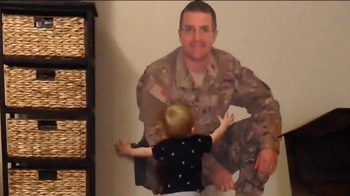Fathead TV Spot, 'Military Dad is Home with His Son' - Thumbnail 5