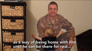 Fathead TV Spot, 'Military Dad is Home with His Son' - Thumbnail 6