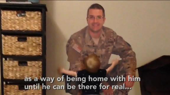 Fathead TV Spot, 'Military Dad is Home with His Son' - Thumbnail 7