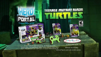 Hero Portal Teenage Mutant Ninja Turtles TV Spot