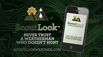 ScoutLook Weather Apps TV Spot, 'The Weather Apps that Help you Hunt Smart' - Thumbnail 7