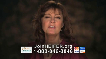 Heifer International TV Spot, 'What Hunger Looks Like' Feat. Susan Sarandon - Thumbnail 8