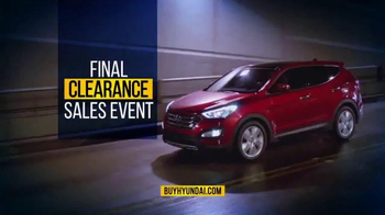 Hyundai Final Clearance Sales Event TV Spot, 'All 2014s' - Thumbnail 10