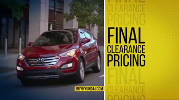 Hyundai Final Clearance Sales Event TV Spot, 'All 2014s' - Thumbnail 2