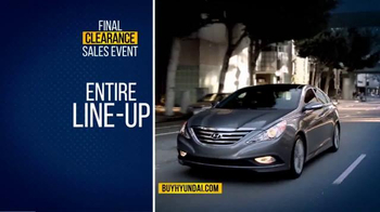 Hyundai Final Clearance Sales Event TV Spot, 'All 2014s' - Thumbnail 3
