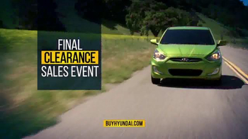 Hyundai Final Clearance Sales Event TV Spot, 'All 2014s' - Thumbnail 9