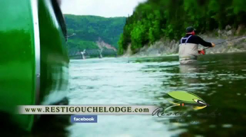 Restigouche River Lodge TV Spot, 'Ready for Your Fly' - Thumbnail 8