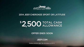 2014 Jeep Cherokee TV Spot, 'Celebration Event' Song by Michael Jackson - Thumbnail 9