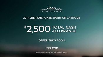 2014 Jeep Cherokee TV Spot, 'Celebration Event' Song by Michael Jackson - Thumbnail 8