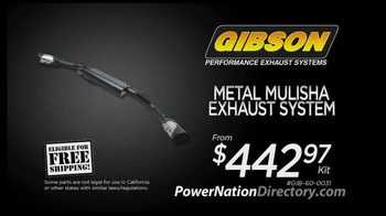 PowerNation Directory TV Spot, 'Suspension and Exhaust' - Thumbnail 6