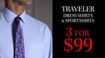 JoS. A. Bank TV Spot, 'October: 3 for $99 Traveler Shirts' - Thumbnail 5