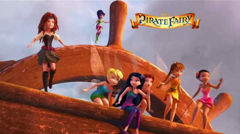 Disney Fairies Pirate Fairy TV Spot, 'Ahoy' - Thumbnail 1