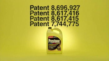 Prestone TV Spot, 'Patented'