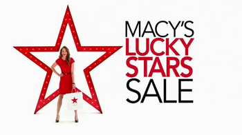 Macy's Lucky Stars Sale TV Spot, 'Buy More, Save More' - Thumbnail 10