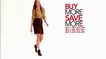 Macy's Lucky Stars Sale TV Spot, 'Buy More, Save More' - Thumbnail 5