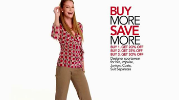 Macy's Lucky Stars Sale TV Spot, 'Buy More, Save More' - Thumbnail 7