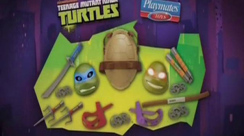 Teenage Mutant Ninja Turtles Electronic Mask TV Spot, 'Pizza Time' - Thumbnail 10
