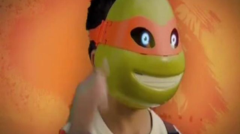 Teenage Mutant Ninja Turtles Electronic Mask TV Spot, 'Pizza Time' - Thumbnail 5