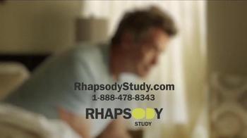 Rhapsody TV Spot, 'Rhapsody Study' - Thumbnail 10