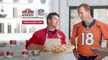 Papa John\'s Ultimate Meats Pizza TV Spot Featuring Peyton Manning