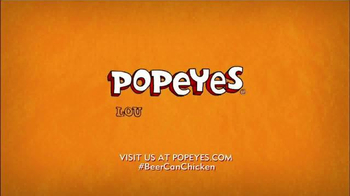 Popeyes Beer Can Chicken TV Spot, 'Barbecue Party' - Thumbnail 10