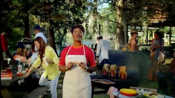 Popeyes Beer Can Chicken TV Spot, 'Barbecue Party' - Thumbnail 4