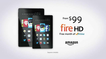 Amazon Kindle Fire HD TV Spot, 'Free Month of Amazon Prime' - Thumbnail 10