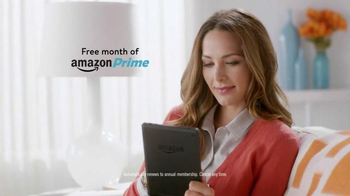 Amazon Kindle Fire HD TV Spot, 'Free Month of Amazon Prime' - Thumbnail 4