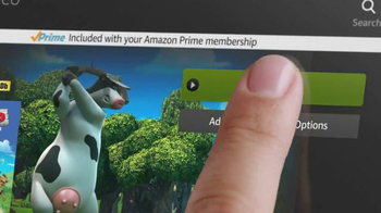 Amazon Kindle Fire HD TV Spot, 'Free Month of Amazon Prime' - Thumbnail 5