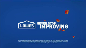 Lowe's TV Spot, 'How to Shed Pounds This Winter' - Thumbnail 10