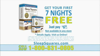 Sleep Squares TV Spot - Thumbnail 5